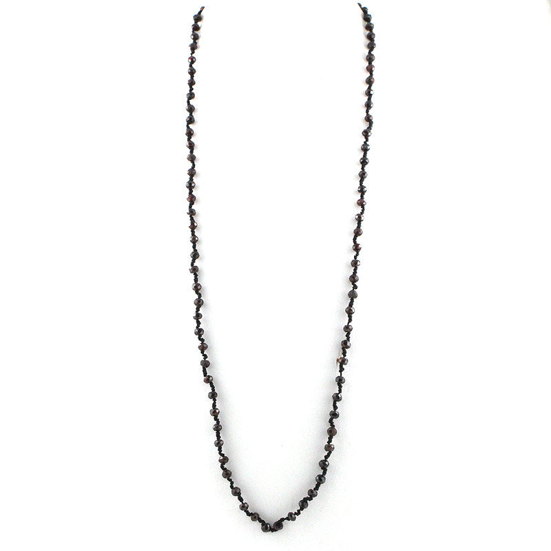 Multi Functional Precious Stone Necklace