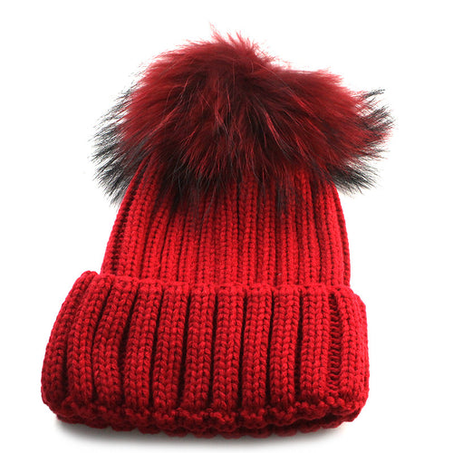 Restock! Knit Pompom Winter Hat
