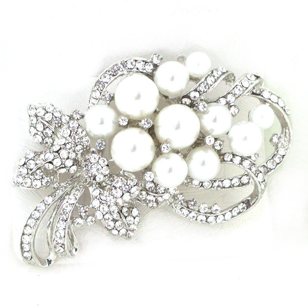 Pearl Bouquet Pin Brooch