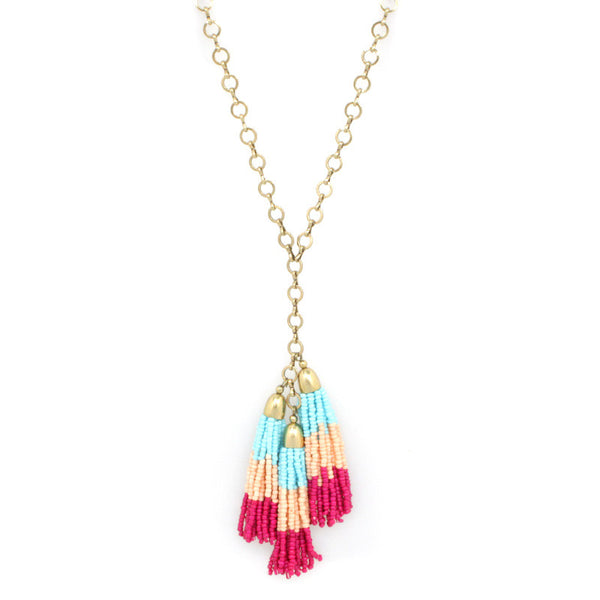 SS Vivid Edition - Color Tassel Necklace