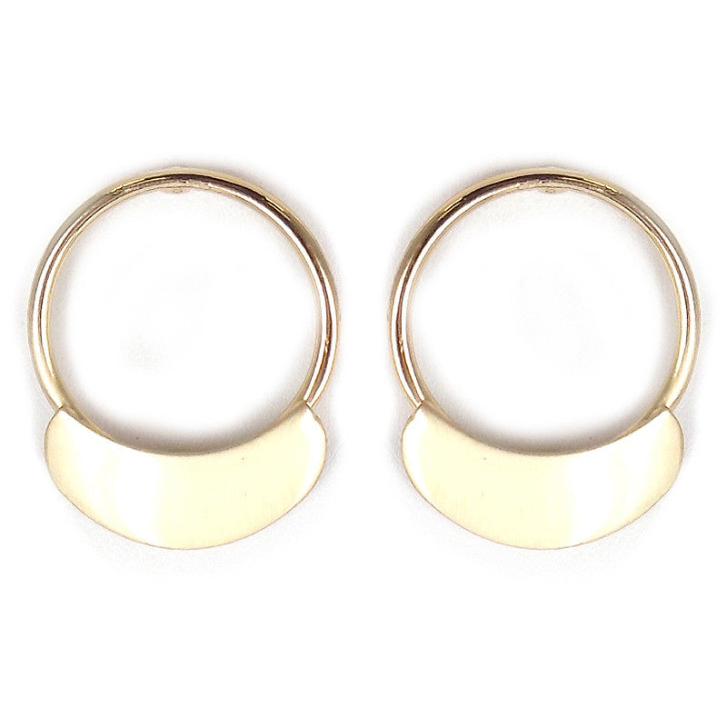 Ring Post Earrings