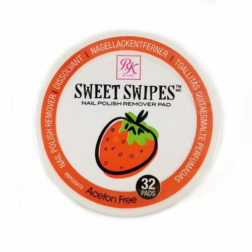 Sweet Swipes Acetone Free Nail Polish Remover Pads