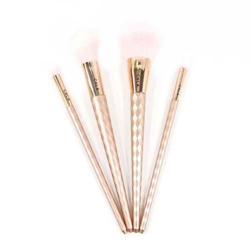 Rose Bliss Collection Premium Make-Up Brush Set