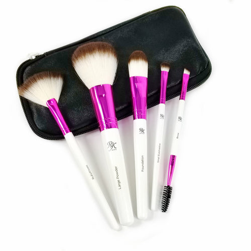 Essential Brush Kit with Travel Pouch