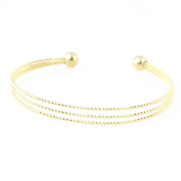 Sleek Rope Cuff Bracelet