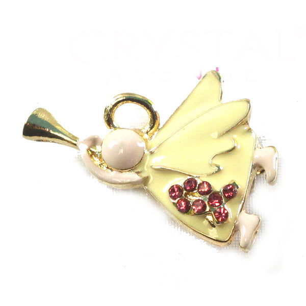 Pink Ribbon Breast Cancer Awareness Brooch Pin