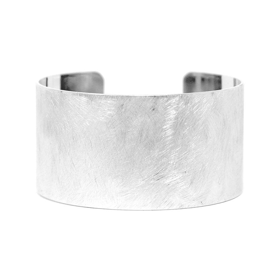 Brush Textured Cuff Bracelet