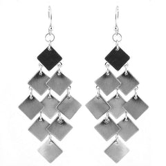 Flat Cascade Earrings