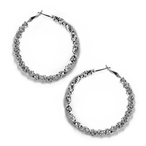 Urban Spiral Hoop Earrings