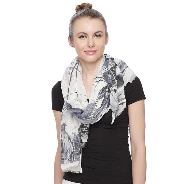 New York Oblong Scarf