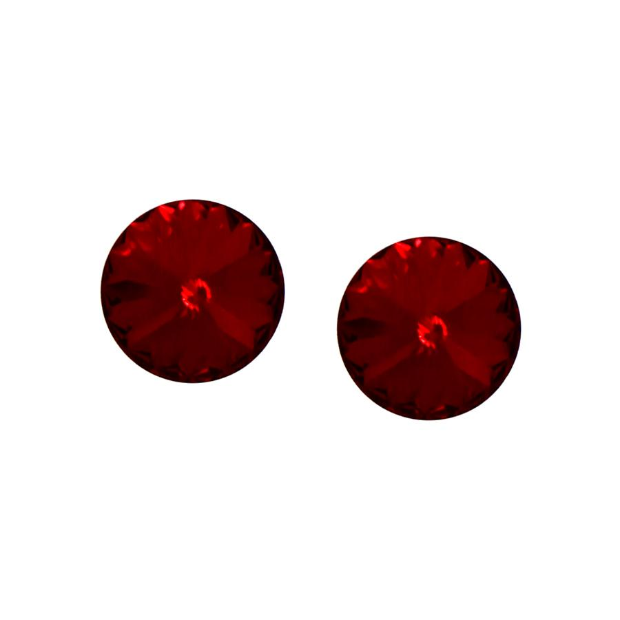 Pointed Cubic Zirconia Stud Earrings (10 mm)