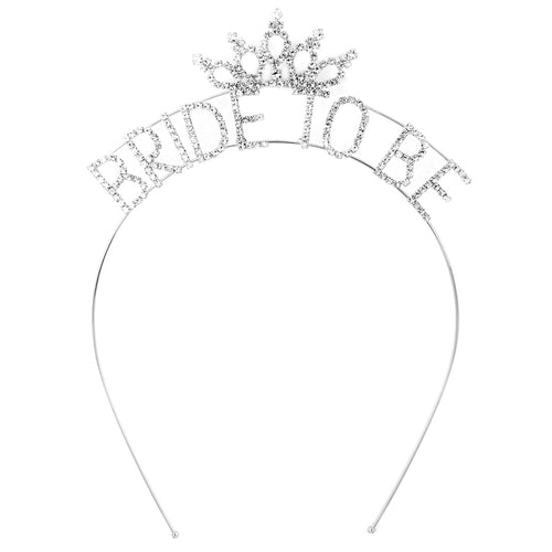 BRIDE-TO-BE Rhinestone Headband