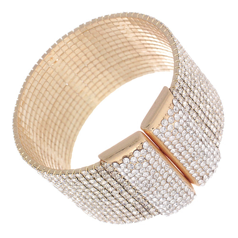 15 Row Knob End Wire Bracelet