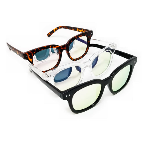 Mirrored Classic Style Sunglasses