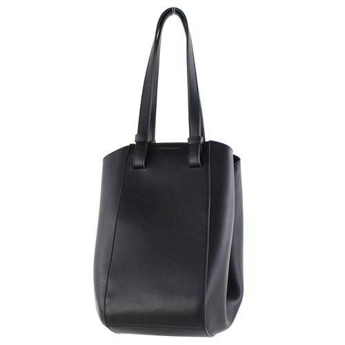 STREET LEVEL Modern Convertible Faux Leather Tote Bag