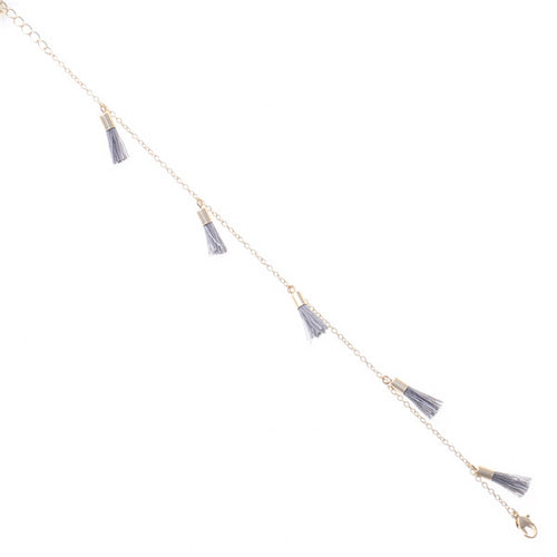 Mini Tassel Single Chain Anklet