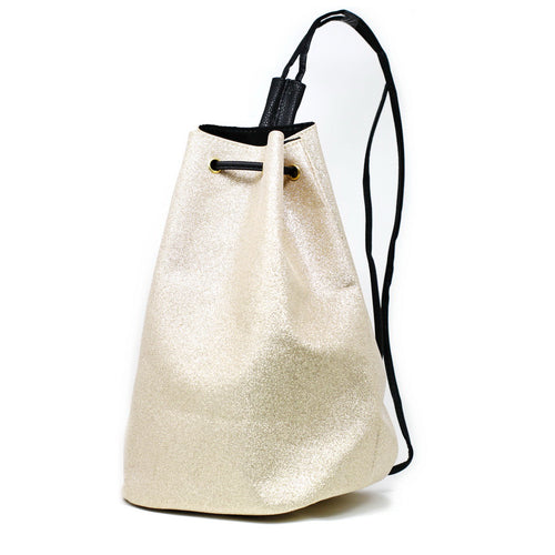 Glitter Dusted Drawstring Backpack