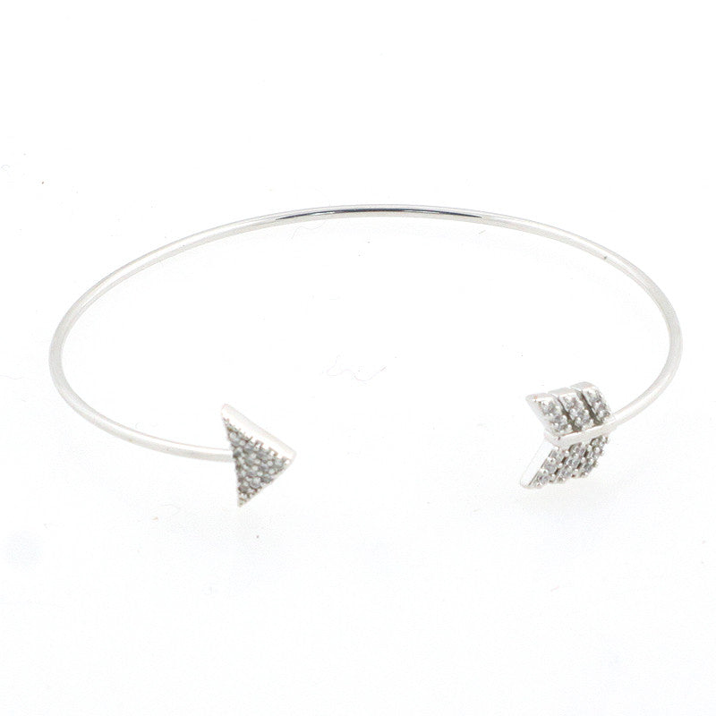 Arrow Cuff Brass Bracelet