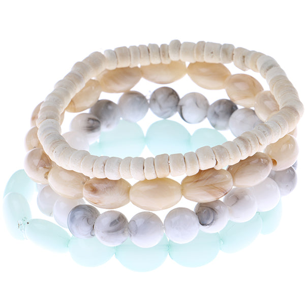 4PCS Multi Bracelet Set