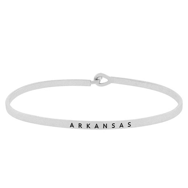 ARKANSAS State Map Bracelet