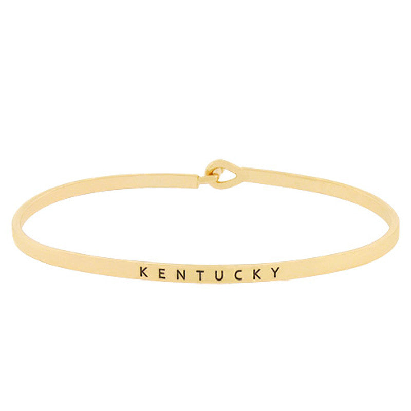 KENTUCKY State Map Bracelet