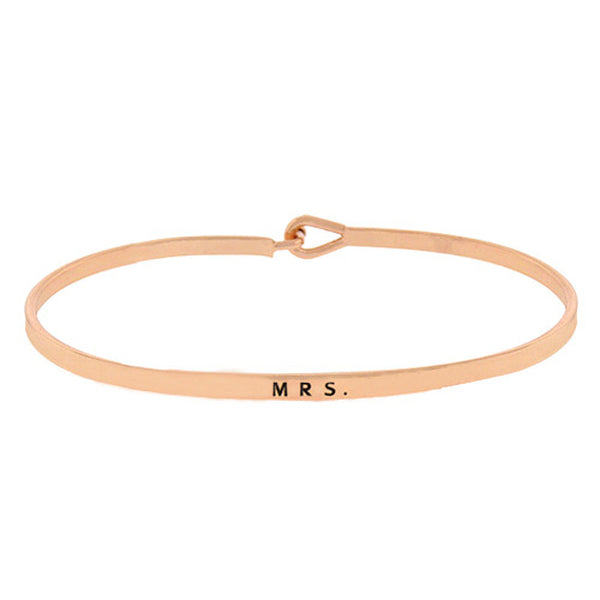 MRS Message Bracelet
