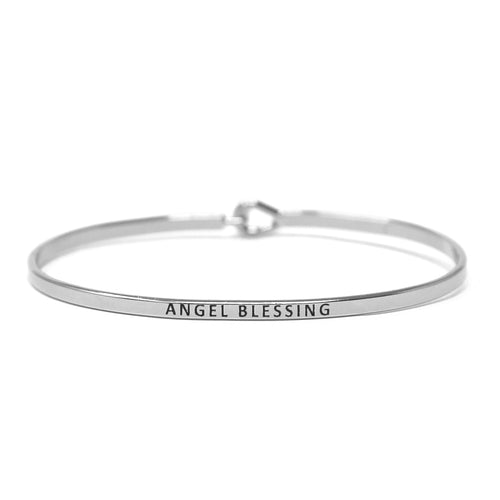 ANGEL BLESSING Inspirational Message Bracelet