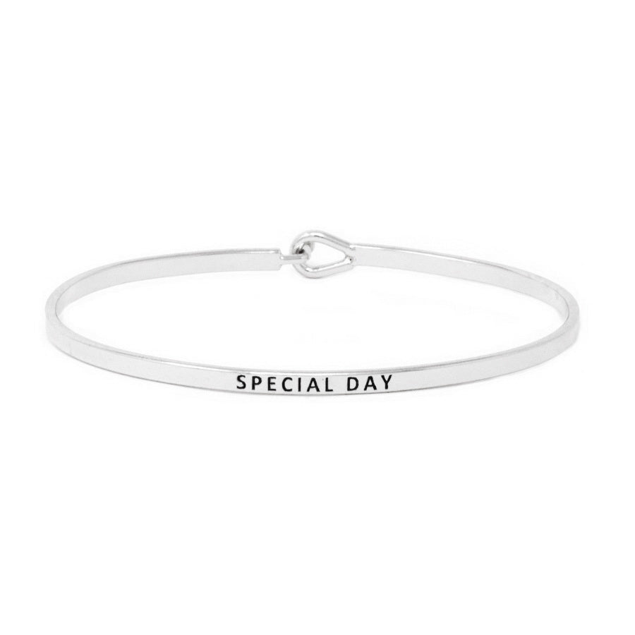 SPECIAL DAY Inspirational Message Bracelet