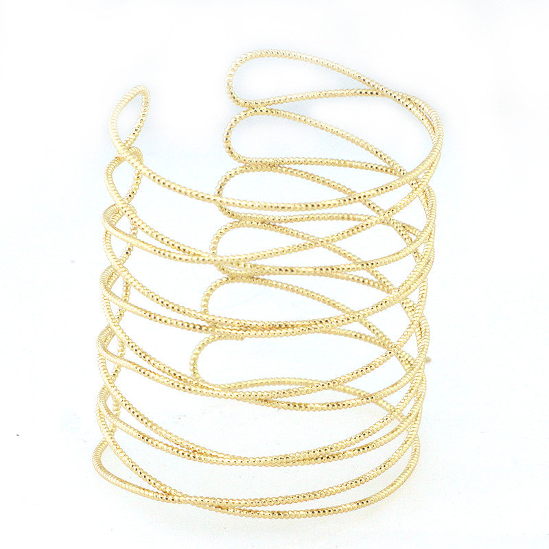 Rope Cut Large Size Bracelet