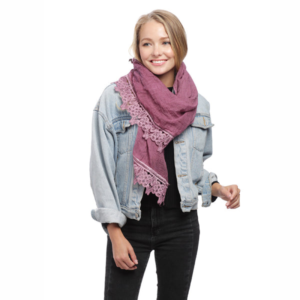 Fashion Trends Lace Scarf