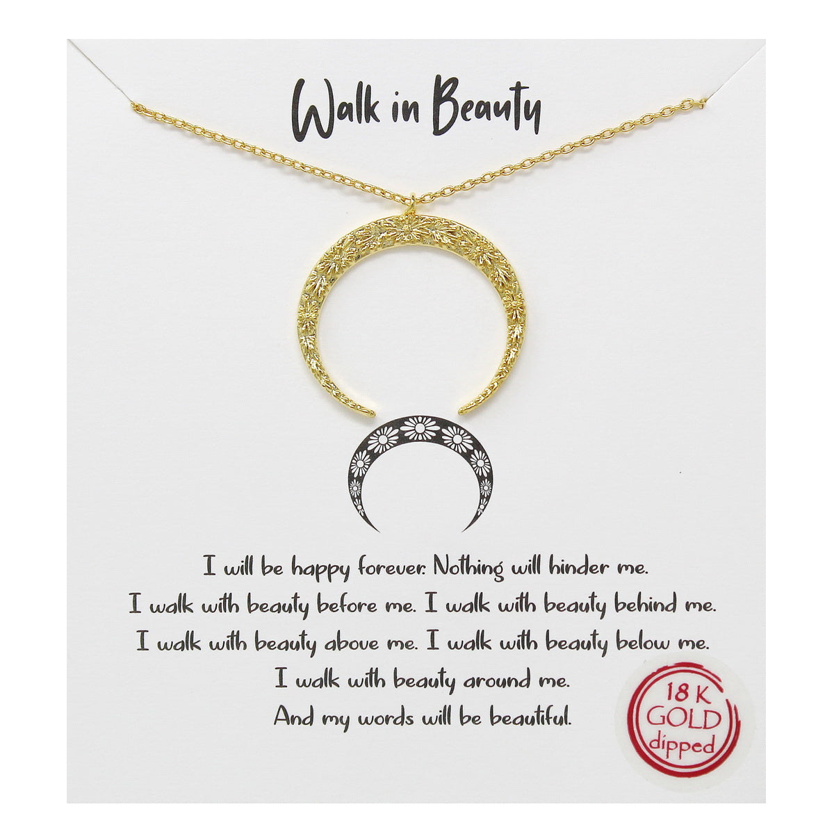 Tell Your Story: Walk In Beauty Simple Chain Necklace