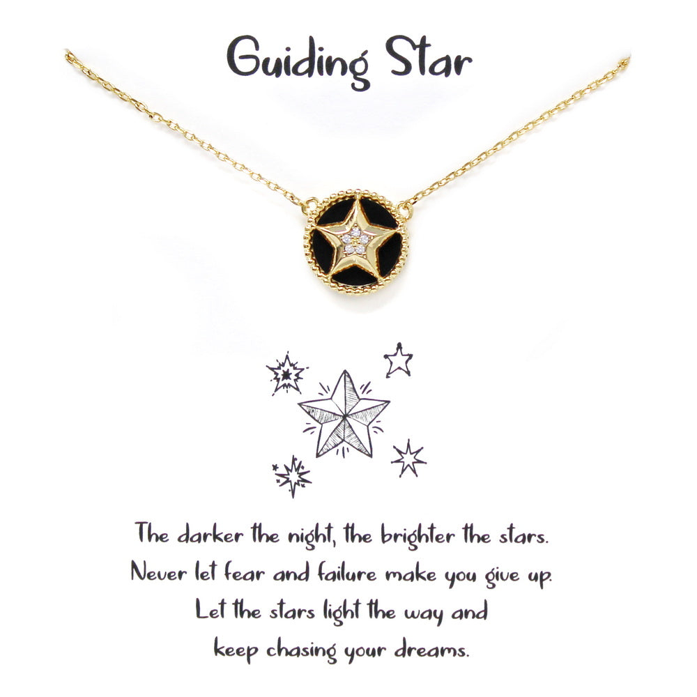 Tell Your Story: Guiding Star Simple Chain Necklace