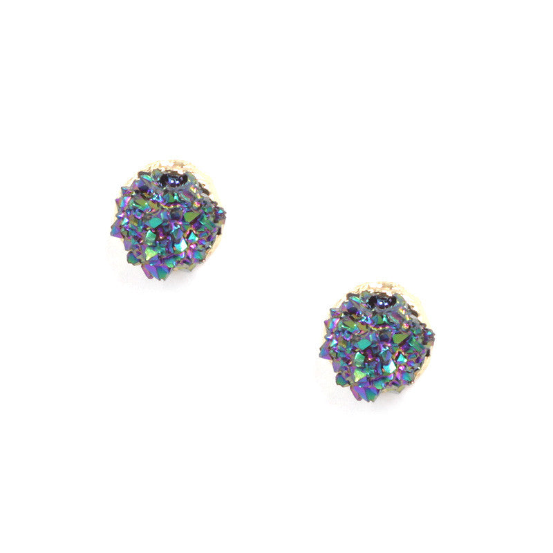 Authentic Druzy Mini Studs Earrings