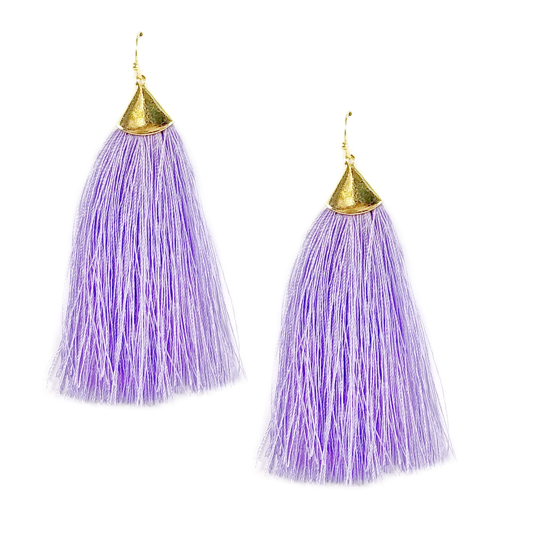 dsc detailed earrings fashion fringe lush lounge products black