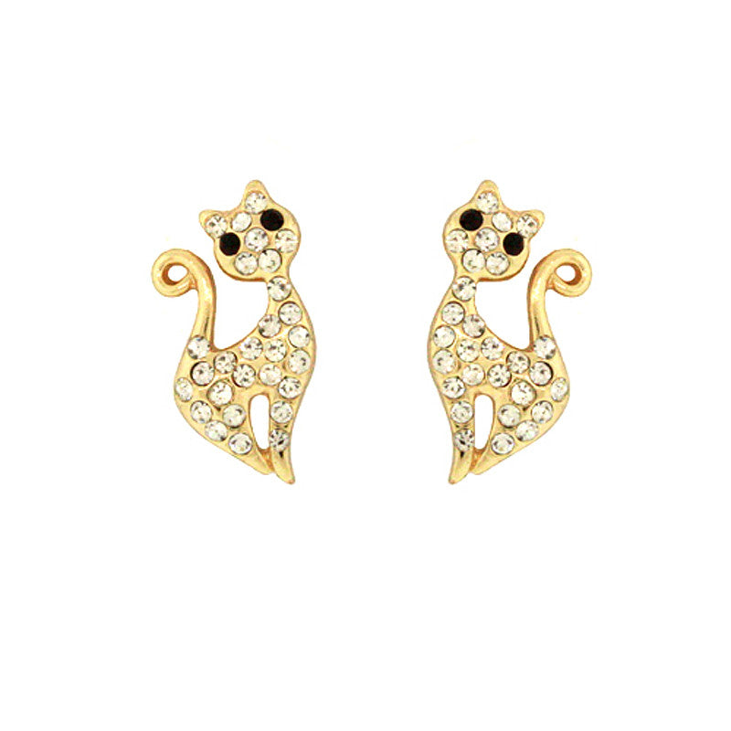 Cat Mini Studs Earrings