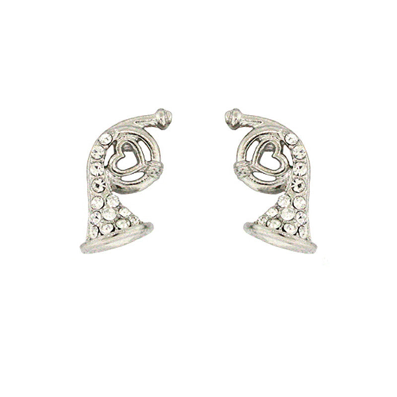 Trumpet Mini Studs Earrings