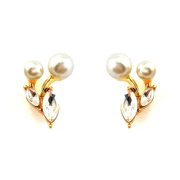 Cherry Pearl Studs Earrings