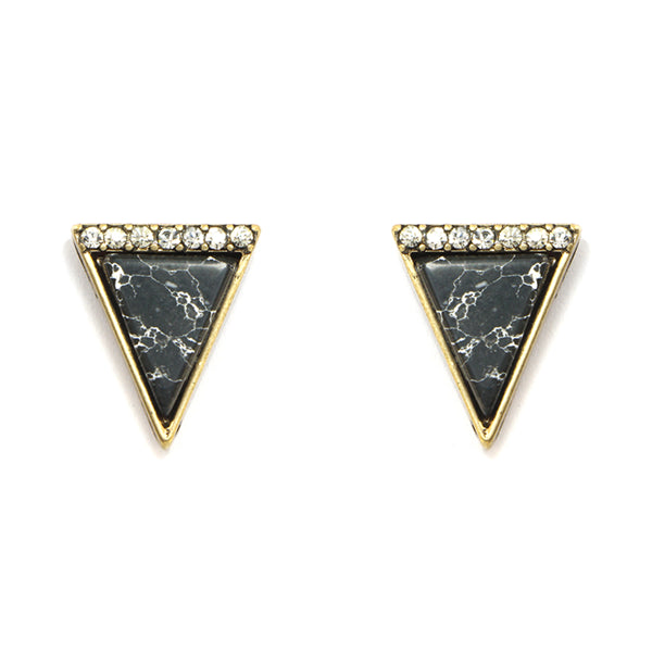 Triangle Studs Earrings