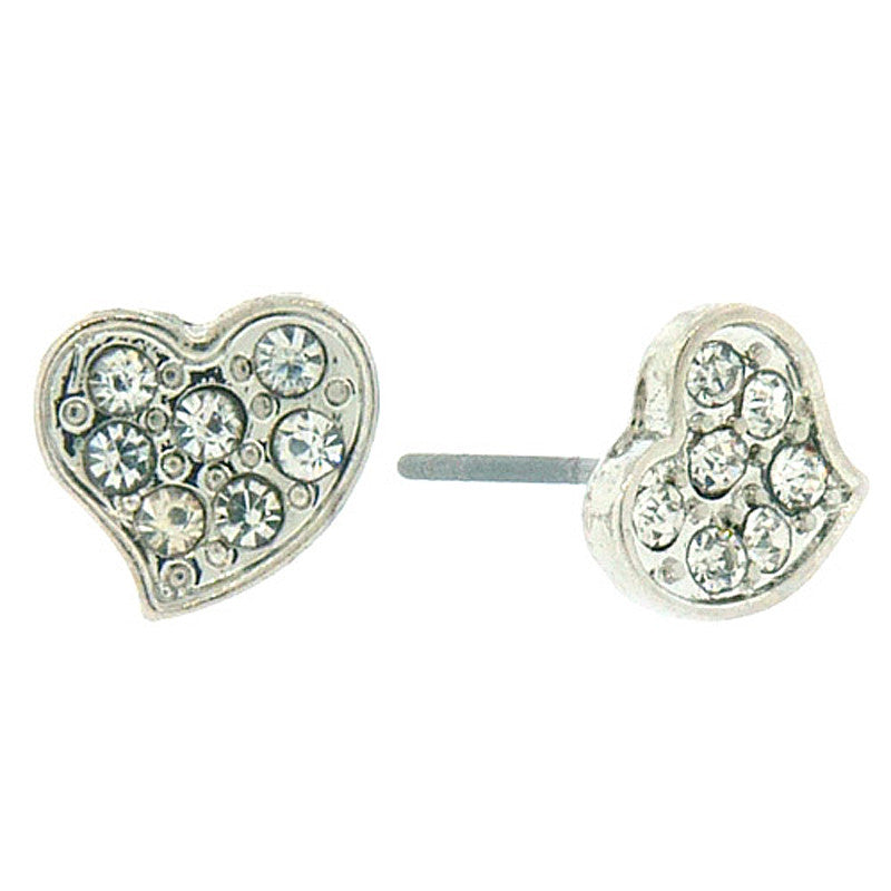 Heart Mini Studs Earrings