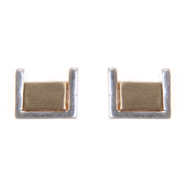 Square Mini Studs Earrings