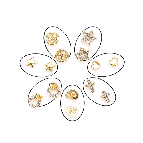 Mini Stud Earrings Variety Pack