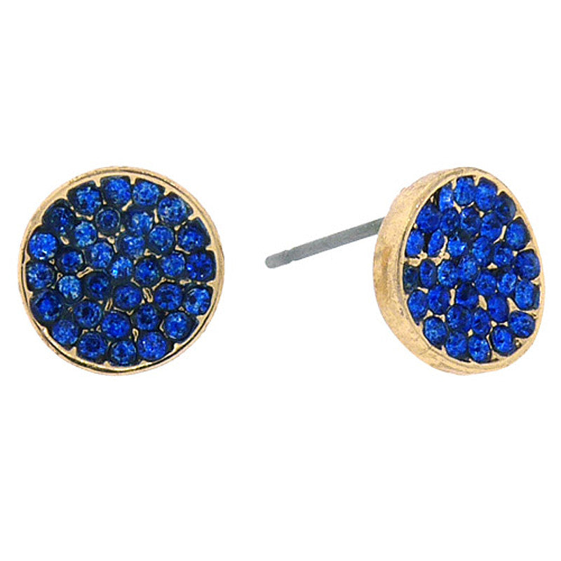 Round Mini Studs Earrings
