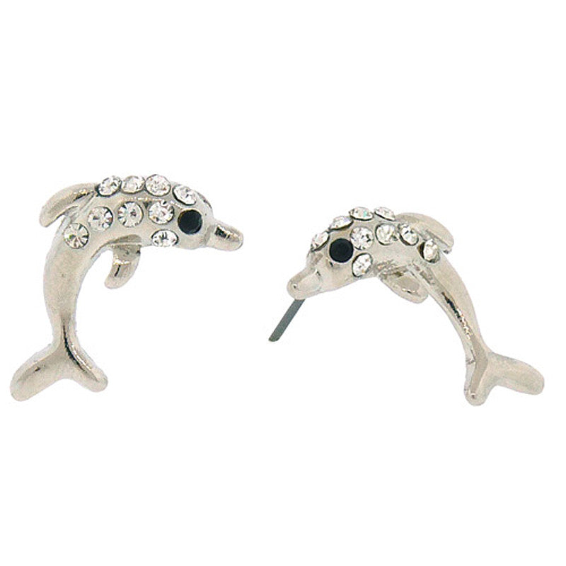 Dolphin Mini Studs Earrings