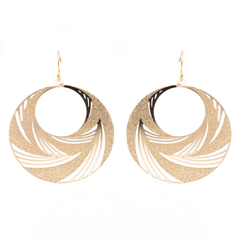 Cutout Filigree Lightweight Earrings
