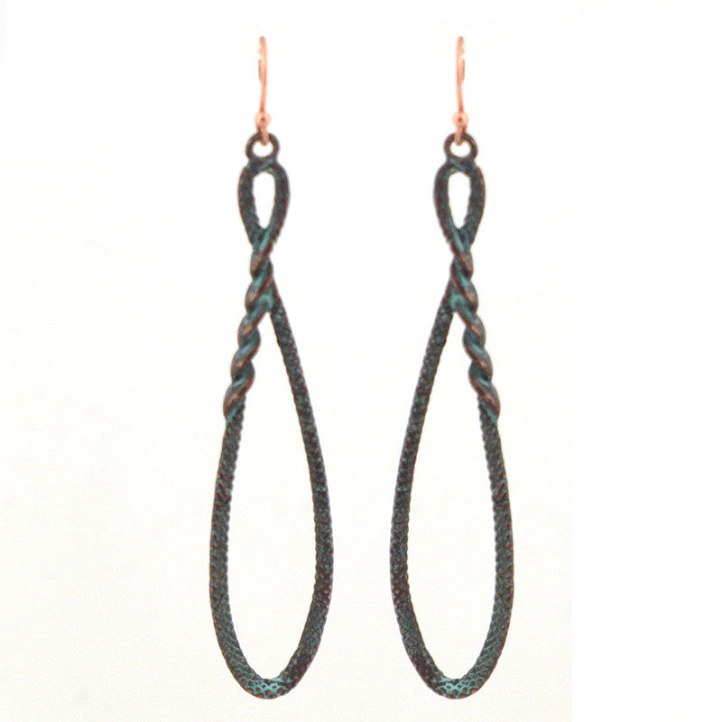 Textured Bohemian Earrings