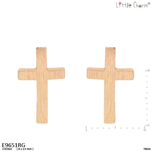 Cross Mini Studs Earrings