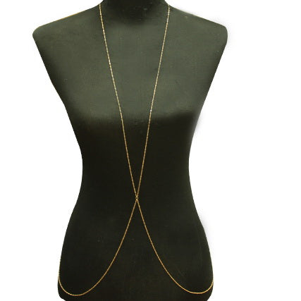Simple X Shape Body Chain
