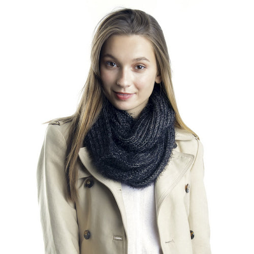 Tinsel Infinity Scarf