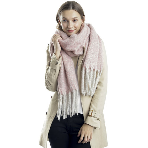 Warm Feel Oblong Scarf