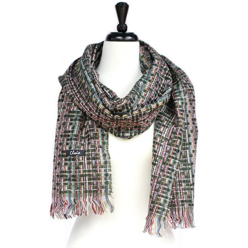 Sequin Multicolor Weaved Scarf